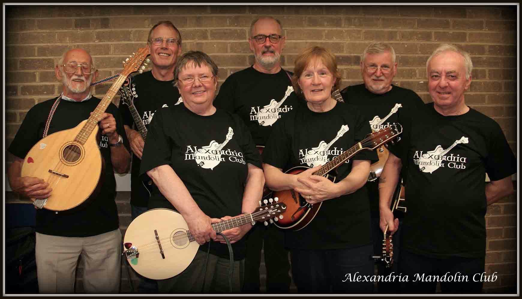 Alexandria Mandolin Club Group Photo
